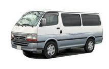 Van for tour in Sri Lanka