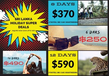 Sri Lanka Holiday Offer