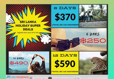 Sri Lanka Holiday Offer | Accru Holidays