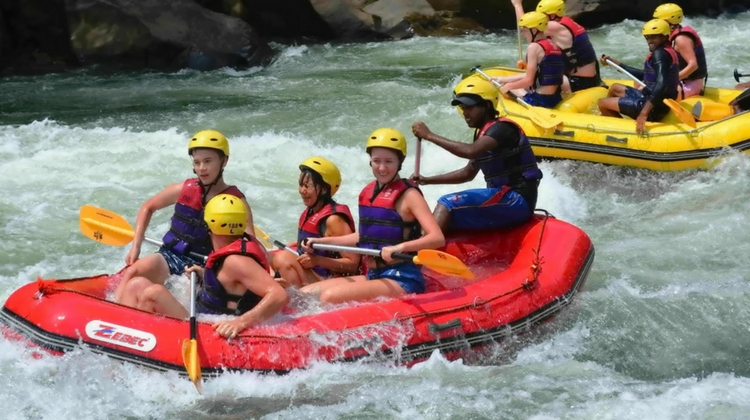 White water rafting in Sri Lanka